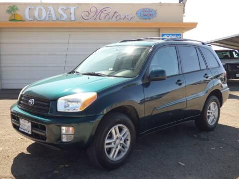 2003 Toyota RAV4 for sale at Coast Motors in Arroyo Grande CA