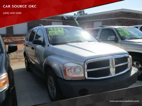 2005 Dodge Durango for sale at CAR SOURCE OKC - CAR ONE in Oklahoma City OK