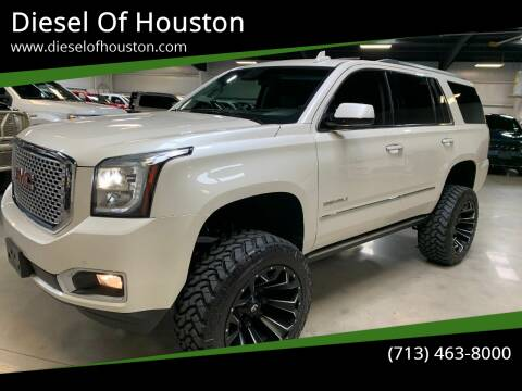 2015 GMC Yukon for sale at Diesel Of Houston in Houston TX