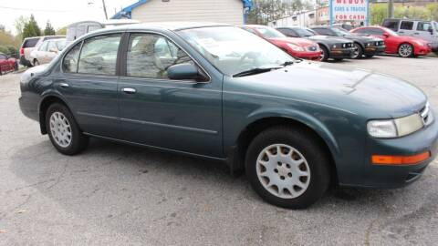 1997 Nissan Maxima for sale at NORCROSS MOTORSPORTS in Norcross GA