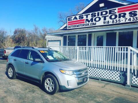 2012 Ford Edge for sale at EASTSIDE MOTORS in Tulsa OK