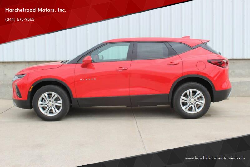 2021 Chevrolet Blazer for sale at Harchelroad Motors, Inc. in Imperial NE