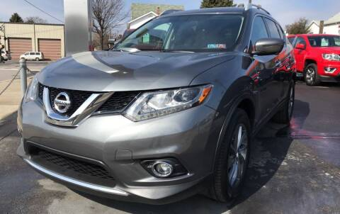 2016 Nissan Rogue for sale at Red Top Auto Sales in Scranton PA