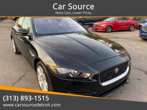2019 Jaguar XE for sale at Car Source in Detroit MI