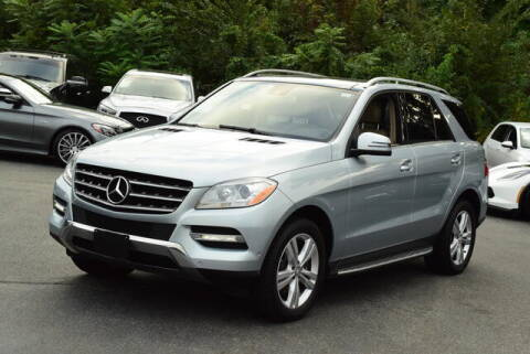 2014 Mercedes-Benz M-Class for sale at Automall Collection in Peabody MA