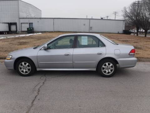 2002 Honda Accord for sale at ALL Auto Sales Inc in Saint Louis MO