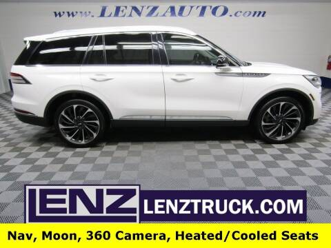 2020 Lincoln Aviator for sale at LENZ TRUCK CENTER in Fond Du Lac WI