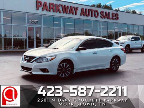 2016 Nissan Altima for sale at Parkway Auto Sales, Inc. in Morristown TN