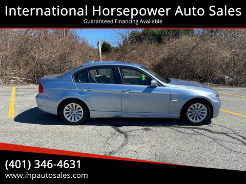 2009 BMW 3 Series for sale at International Horsepower Auto Sales in Warwick RI