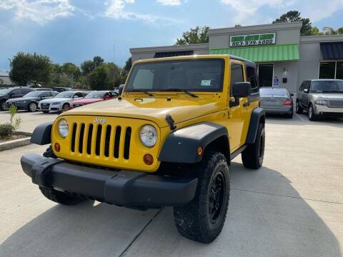 2009 Jeep Wrangler for sale at Cross Motor Group in Rock Hill SC