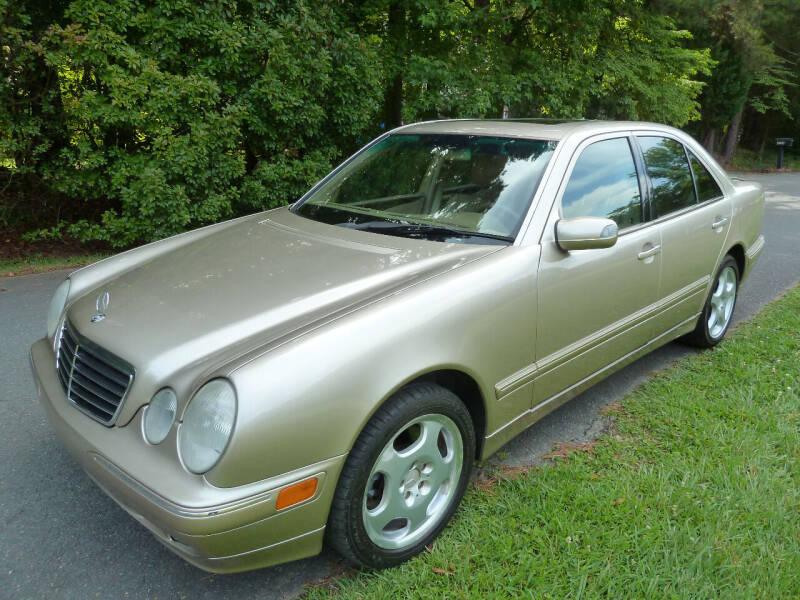 2000 Mercedes-Benz E-Class for sale at Templar Auto Group in Matthews NC