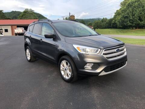 2018 Ford Escape for sale at KNK AUTOMOTIVE in Erwin TN