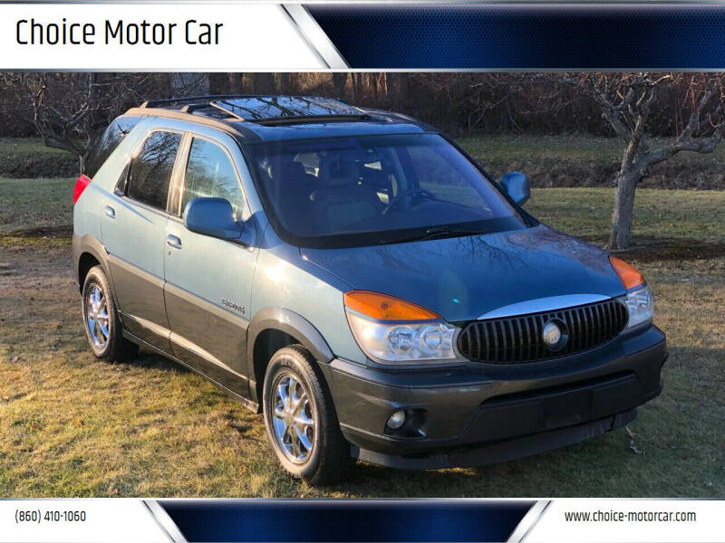 2002 Buick Rendezvous for sale at Choice Motor Car in Plainville CT