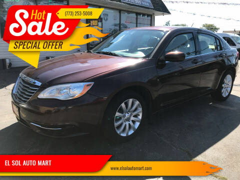 2013 Chrysler 200 for sale at EL SOL AUTO MART in Franklin Park IL