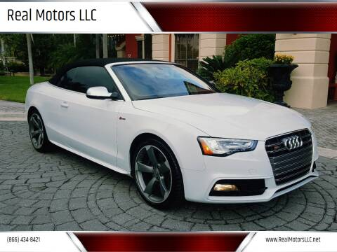 2014 Audi S5 for sale at Real Motors LLC in Clearwater FL