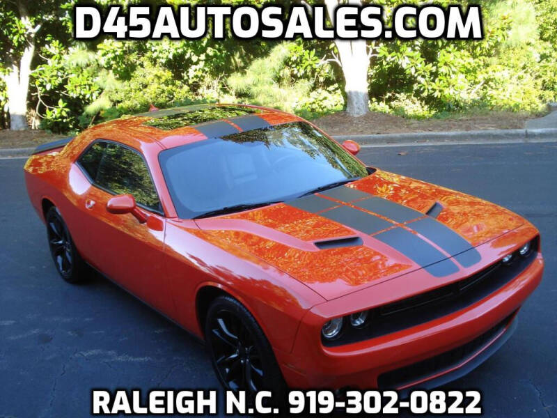 2016 Dodge Challenger for sale at D45 Auto Brokers in Raleigh NC