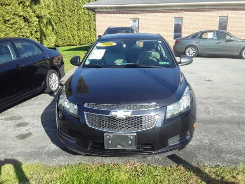 2014 Chevrolet Cruze for sale at Dun Rite Car Sales in Downingtown PA