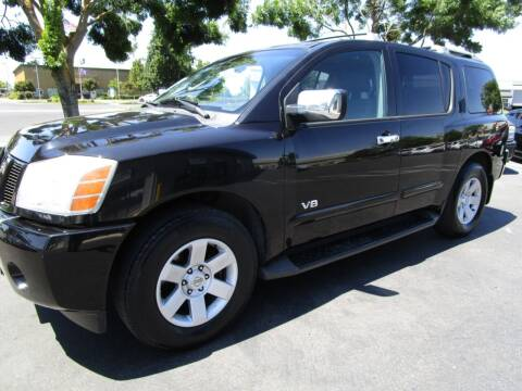 2007 Nissan Armada for sale at KM MOTOR CARS in Modesto CA