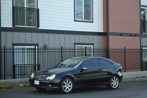 2002 Mercedes-Benz C-Class for sale at Skyline Motors Auto Sales in Tacoma WA