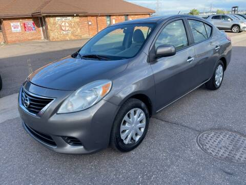 2013 Nissan Versa for sale at STATEWIDE AUTOMOTIVE LLC in Englewood CO