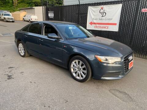 2013 Audi A6 for sale at C&D Auto Sales Center in Kent WA