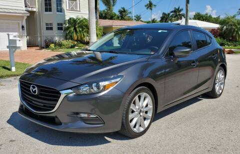 2017 Mazda MAZDA3 for sale at FIRST FLORIDA MOTOR SPORTS in Pompano Beach FL
