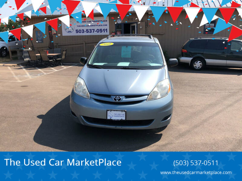 2010 Toyota Sienna for sale at The Used Car MarketPlace in Newberg OR