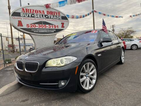 2012 BMW 5 Series for sale at Arizona Drive LLC in Tucson AZ