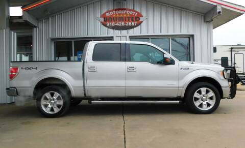 2012 Ford F-150 for sale at Motorsports Unlimited in McAlester OK