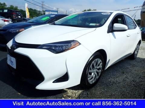 2019 Toyota Corolla for sale at Autotec Auto Sales in Vineland NJ
