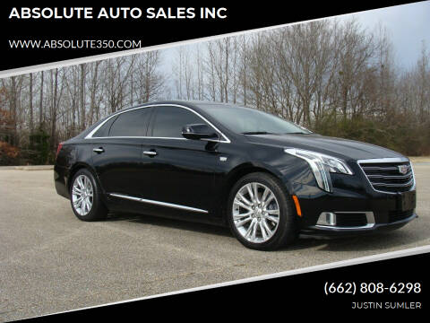 2018 Cadillac XTS for sale at ABSOLUTE AUTO SALES INC in Corinth MS
