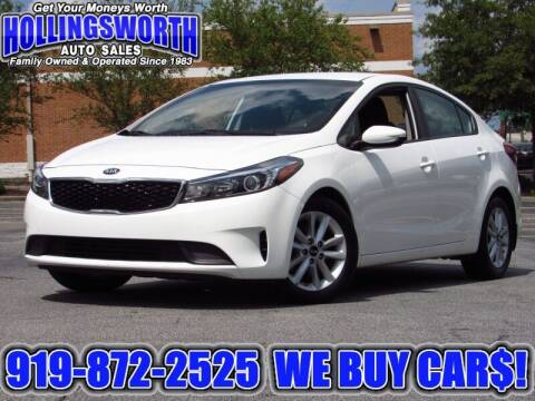 2017 Kia Forte for sale at Hollingsworth Auto Sales in Raleigh NC