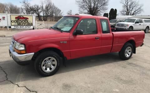 2000 Ford Ranger for sale at Cordova Motors in Lawrence KS