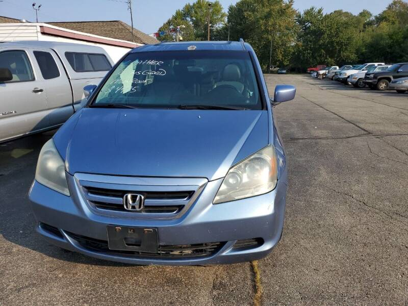 2006 Honda Odyssey for sale at All State Auto Sales, INC in Kentwood MI