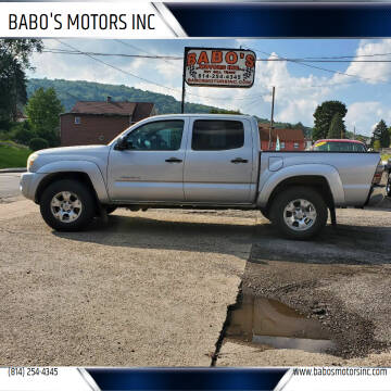 2011 Toyota Tacoma for sale at BABO'S MOTORS INC in Johnstown PA