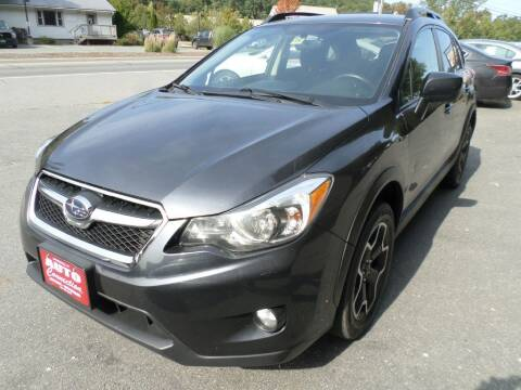 2014 Subaru XV Crosstrek for sale at AUTO CONNECTION LLC in Springfield VT