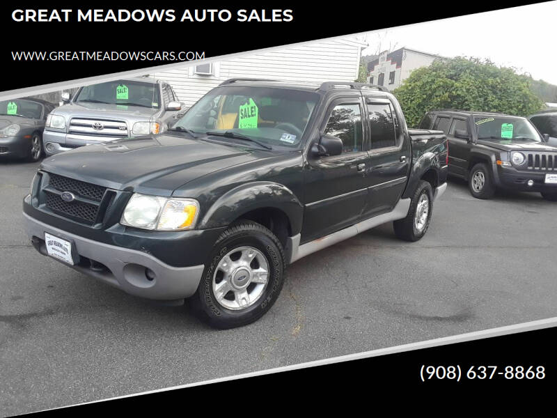 2003 Ford Explorer Sport Trac for sale at GREAT MEADOWS AUTO SALES in Great Meadows NJ