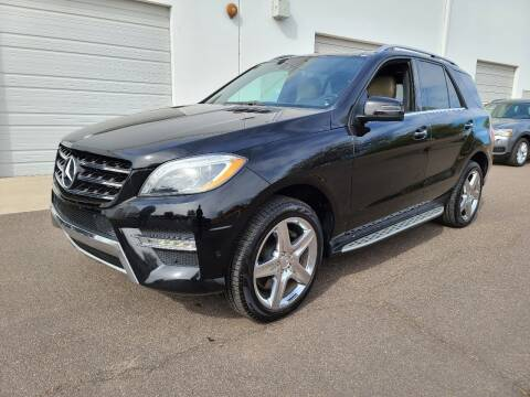 2013 Mercedes-Benz M-Class for sale at NEW UNION FLEET SERVICES LLC in Goodyear AZ