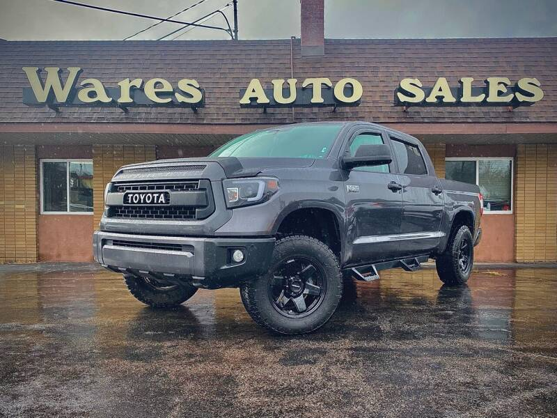 2015 Toyota Tundra for sale at Wares Auto Sales INC in Traverse City MI