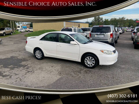 2005 Toyota Camry for sale at Sensible Choice Auto Sales, Inc. in Longwood FL