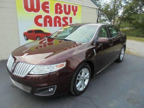 2009 Lincoln MKS for sale at Right Price Auto Sales in Murfreesboro TN