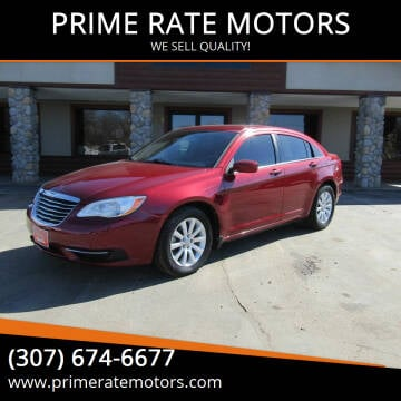 2011 Chrysler 200 for sale at PRIME RATE MOTORS in Sheridan WY