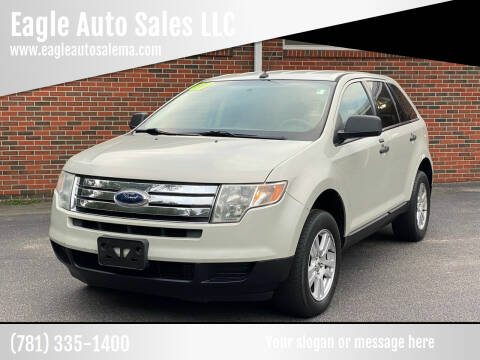 2007 Ford Edge for sale at Eagle Auto Sales LLC in Holbrook MA