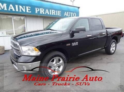 2015 RAM Ram Pickup 1500 for sale at Maine Prairie Auto INC in Saint Cloud MN