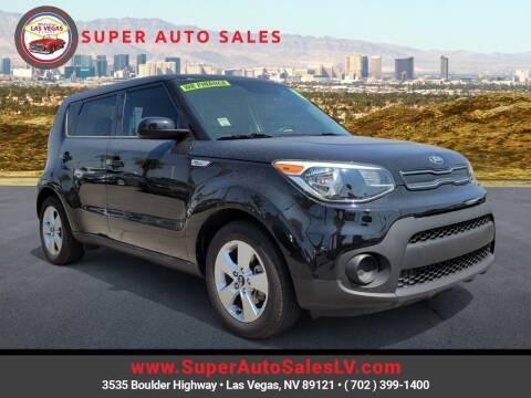 2018 Kia Soul for sale at Super Auto Sales in Las Vegas NV