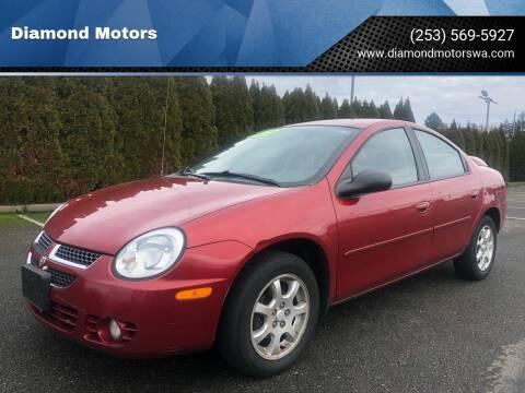 2004 Dodge Neon for sale at Diamond Motors in Lakewood WA