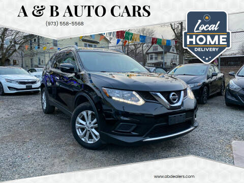 2015 Nissan Rogue for sale at A & B Auto Cars in Newark NJ