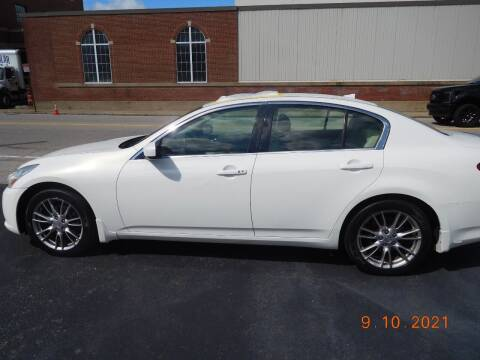 2011 Infiniti G37 Sedan for sale at Southbridge Street Auto Sales in Worcester MA