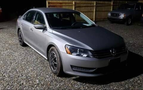 2012 Volkswagen Passat for sale at Last Frontier Inc in Blairstown NJ