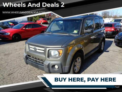 2008 Honda Element for sale at Wheels and Deals 2 in Atlanta GA